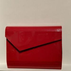 Red Acrylic Clutch